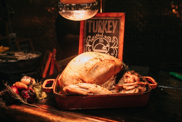 How to carve a turkey?
